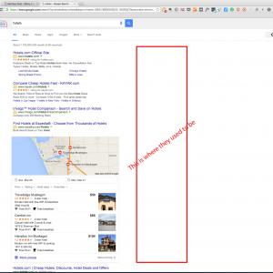 new google page layout