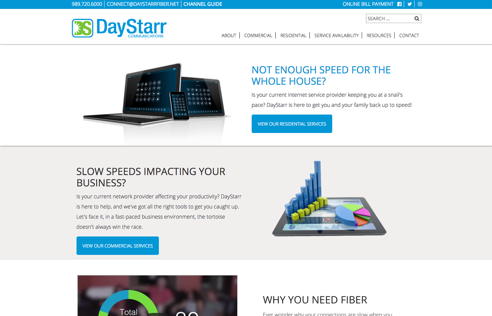 Image Of The Daystarr Communications Digital Marketing Project